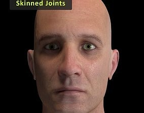 3D asset Cinematic Male Character - Skinned joints -