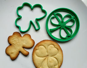 3D print model Cookie cutters Shamrock