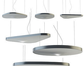 3D model Pendant lamp PETALE By LUCEPLAN