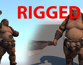 3D asset ORC-Rigged