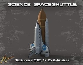SCIENCE SPACE SHUTTLE 3D model
