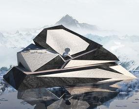3D model Deconstruction Building