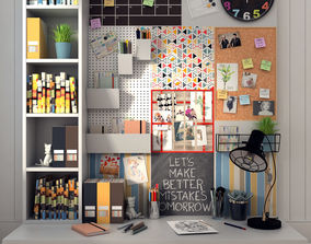 IKEA Bulletin Board Series 3D model