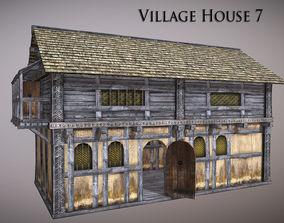 Village House 7 3D asset