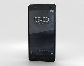 3D model Nokia 5 Matte Black