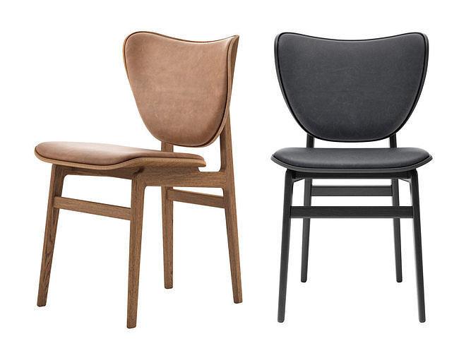 elephant dining chair 3d model max obj mtl fbx c4d skp mxs 1