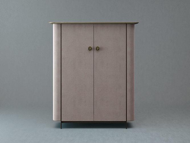 alexander bar cabinet 3d model max obj mtl fbx c4d skp mxs 1