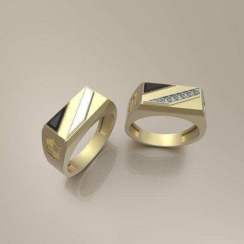 signet ring 6  3d model stl 3dm 1