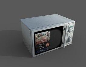 Old Microwave 3D model