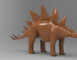 Stegosaurus 3D printable model
