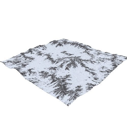 snowy terrain mth090 3d model max obj mtl fbx c4d blend 1