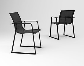 Oasiq Muze armchair 3D model