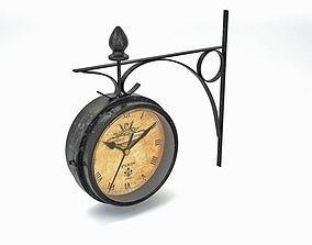 3D PBR Wall clock
