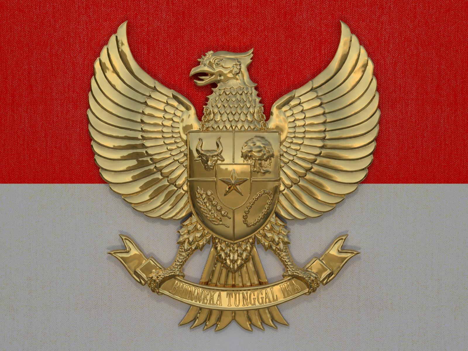 3D model Garuda Pancasila Logo  CGTrader