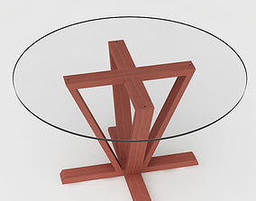 Calligaris Astro Dining Table 3D