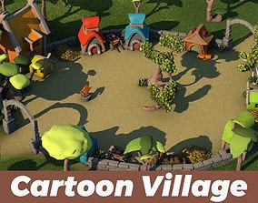 Toon Village 3D