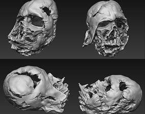 Star Wars - Melted Darth Vader Helmet PRE-SLICED 3D print