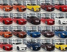 BLENDER EEVEE Brandless 20 car collection volume 2 3D