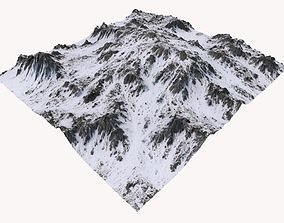 Snowy Mountain MTH101 3D