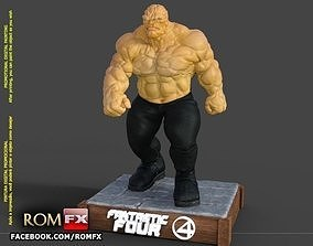 The Thing Fantastic Four - Ben Grimm - Printable Figure