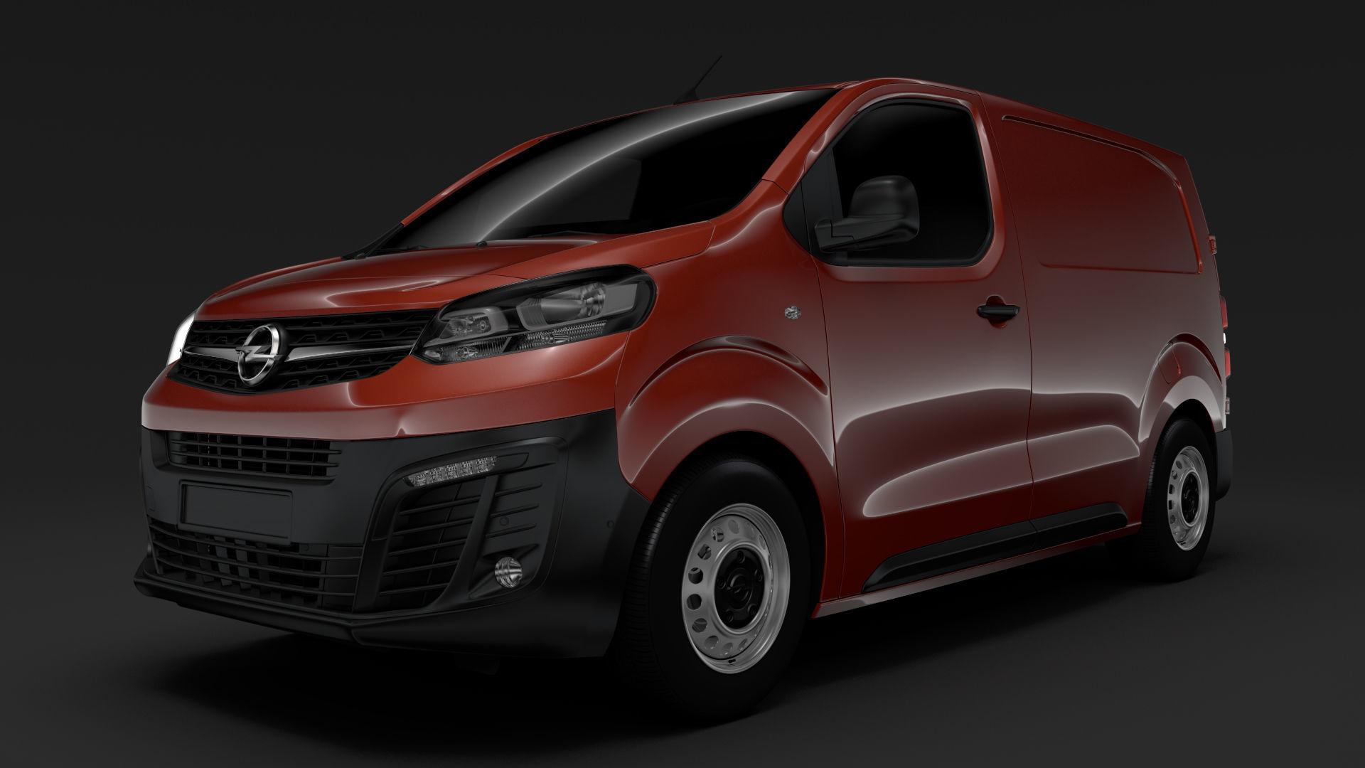 Opel Vivaro Van L1 2020 3d Cgtrader