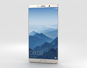 3D Huawei Mate 10 Champagne Gold