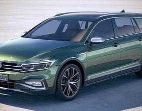 Volkswagen Passat Alltrack 2020 3D