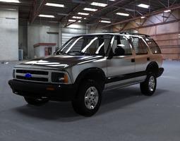 chevrolet s10 blazer 1995 3d