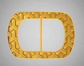 Patterned Buckle 3D print model