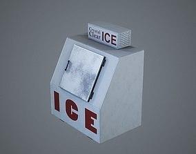 3D model Outdoor Ice Machine