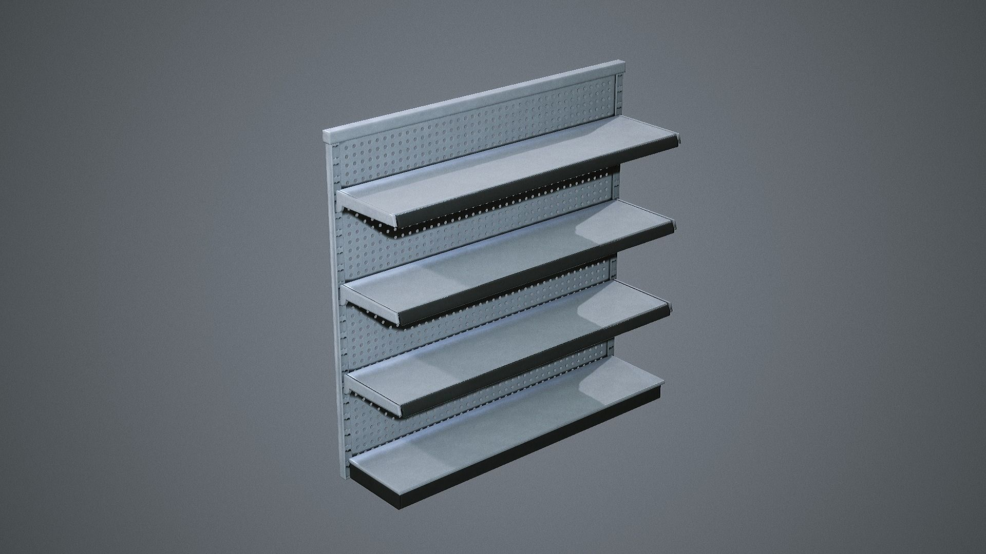 Industrial Store Shelving Units