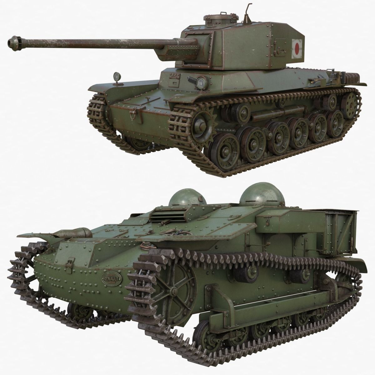 Tank Collection Vray 005