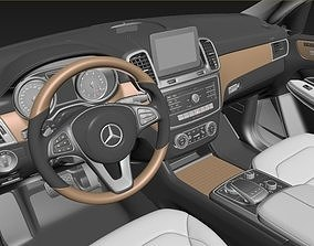 3D model Mercedes - Benz GLS Interior