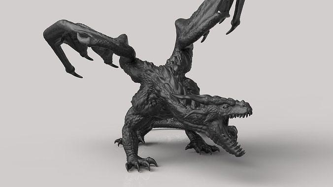 the dragon 3d model stl 1