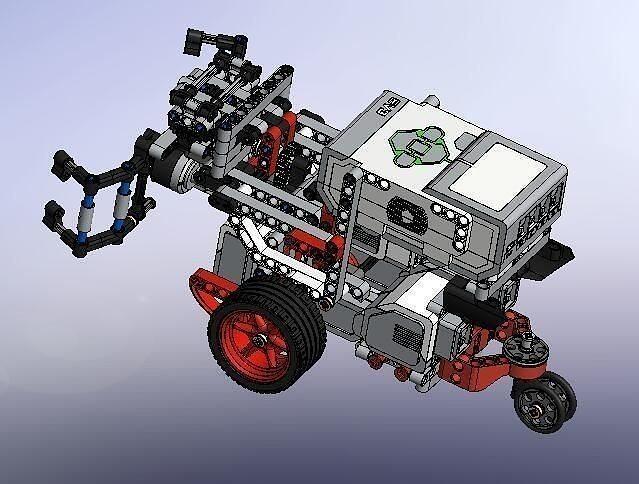 complete structure assembling robot 3d model sldprt sldasm slddrw stp 1