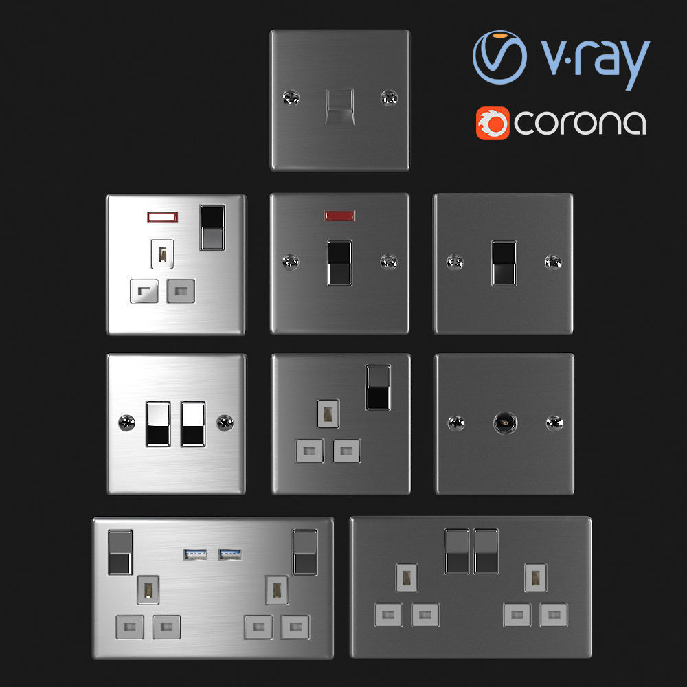 UK Sockets and Switches