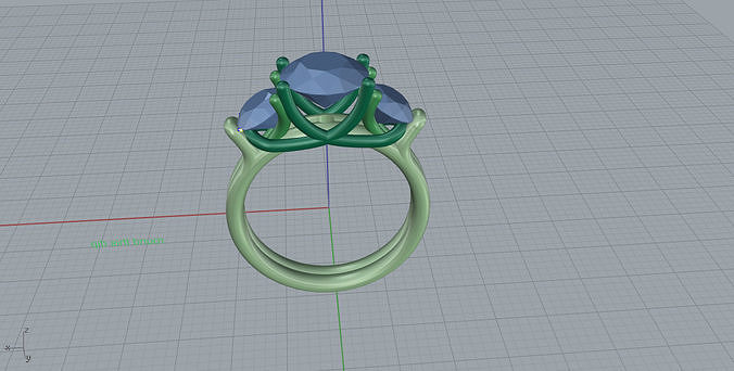 Ring 3d print model