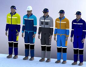 Engineer Model 3D people
