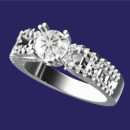 Diamond Ring For Ladies
