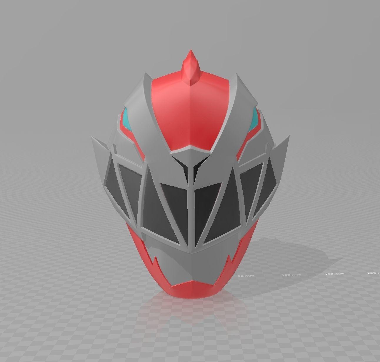 Kishiryu Sentai Ryusoulger Red Helmet