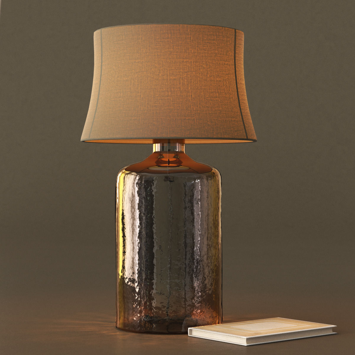 Pottery Barn Clift Glass Table Lamp Base