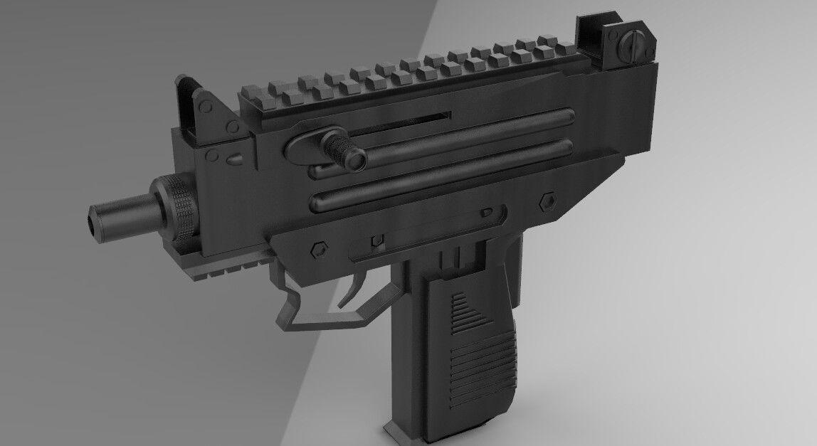 UZI PRO PUBG - GUN | 3D model