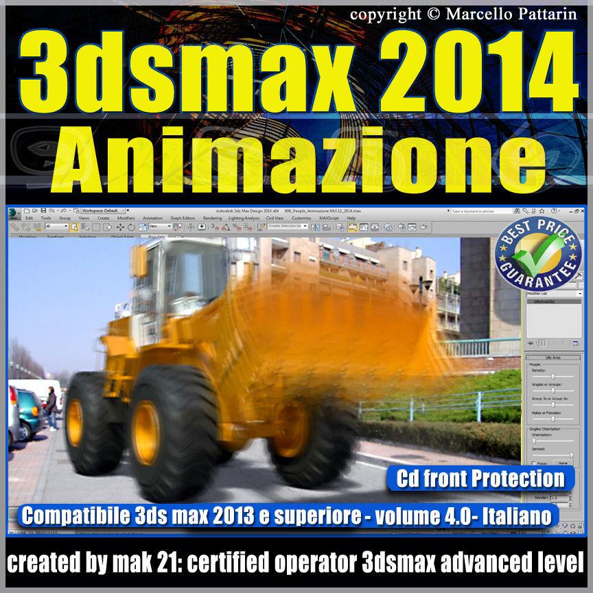 3ds max 2014 Animazione v 4 Italiano cd front
