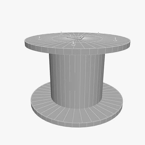 3d Wire Spool Cgtrader