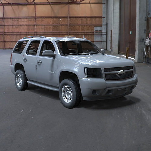 Chevy Suv Models >> 3D Chevrolet Tahoe 2007 | CGTrader