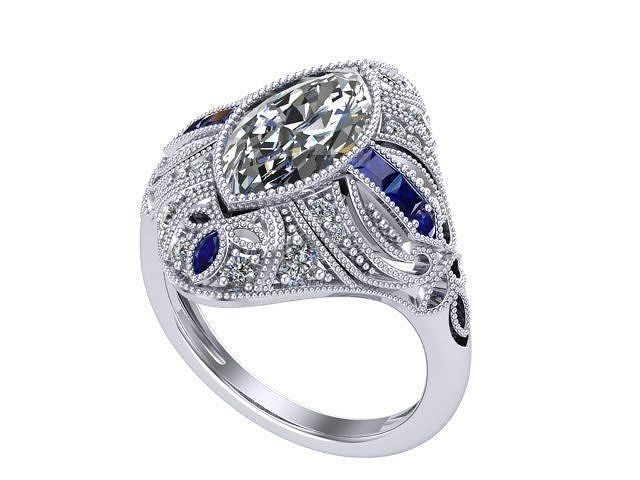 Antique Marquise ring