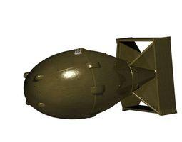 3d model a bomb