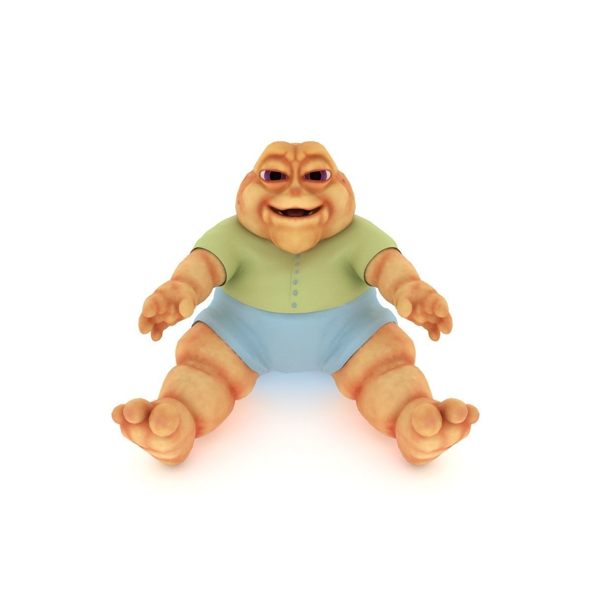 Baby Sinclair with Hollow Earth