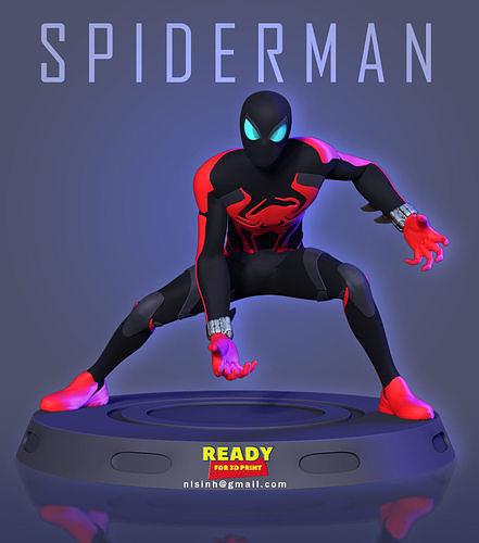 Spider-Man -  Miles Morales 2099 Suit