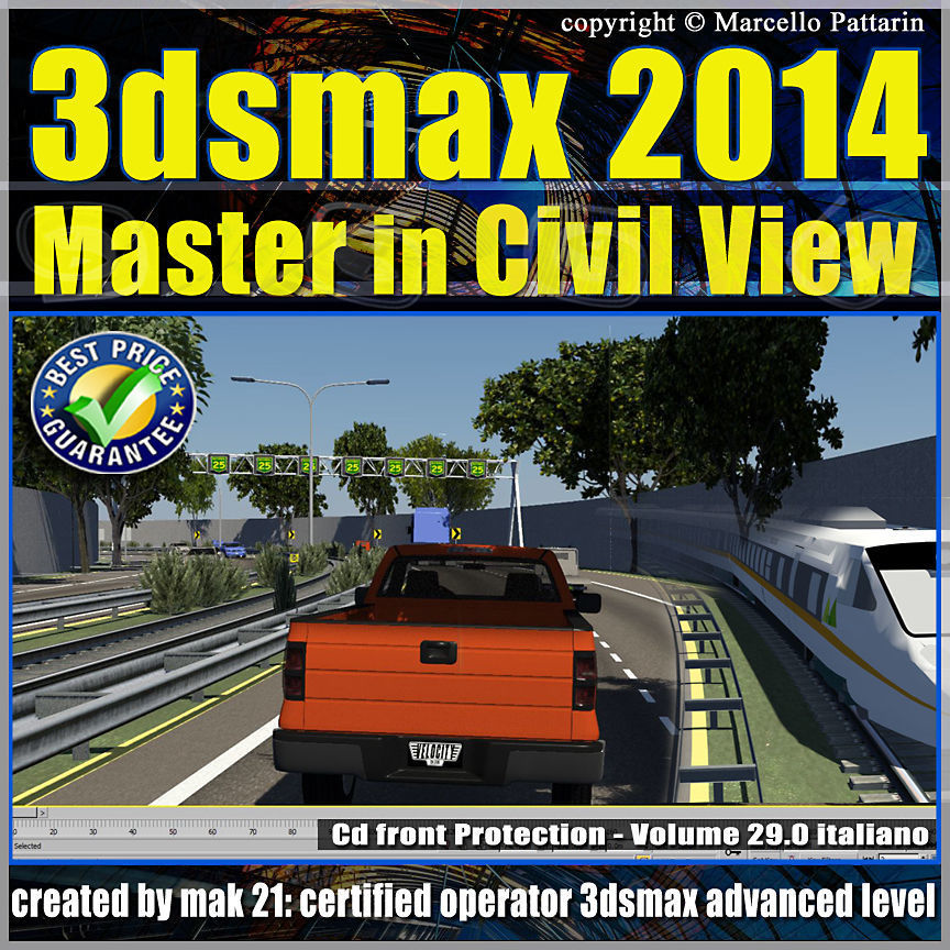 3ds max 2014 Master in Civil View vol 29 cd front